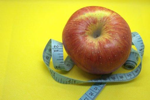 Apple, Fruit, Measurement, Band, Appetite, Calories