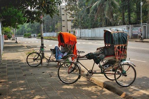 Bicycles, Transportation, Road, Street