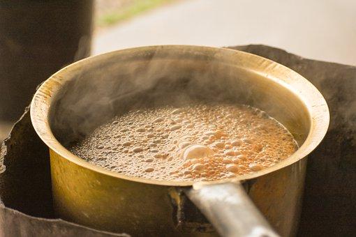 Tea, India, Indian Tea, Tea Making, Boiling Tea