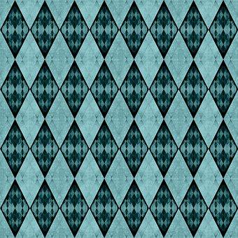 Rhomboid, Rhombus, Checkered, Mosaic, Argyle, Crystal