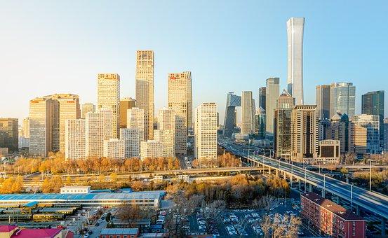 Buildings, City, Skyline, Cityscape, Urban