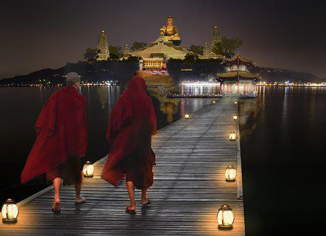 Buddhism, Buddha, Religion, Composition, Meditation