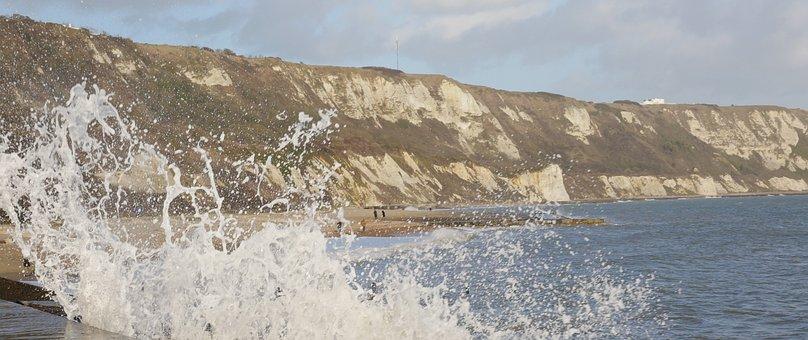 Sea, Waves, Crashing, Splash, Water, Ocean, Beach