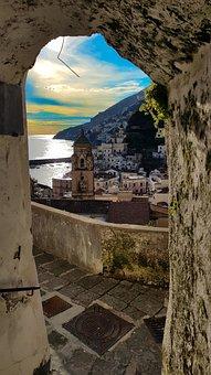 Art, Culture, Man, Amalfi Coast, History, Men, Sea