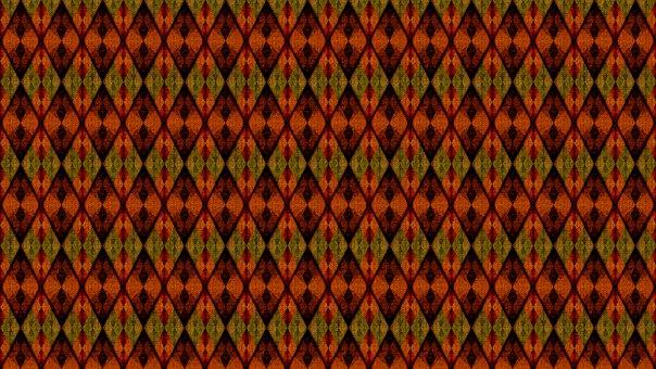 Rhomboid, Rhombus, Checkered, Argyle, Dramatic, Dark