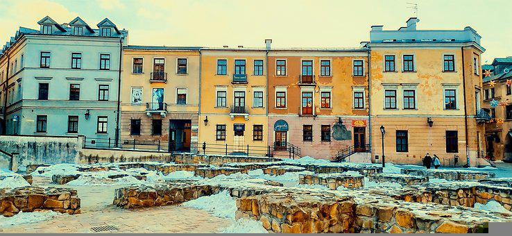 Lublin, The Old Town, Monument, Architecture, Houses