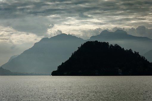 Italy, Lake Como, Landscape