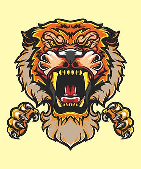 Tiger, Angry, Predator, Animal, Wildlife, Mammal, Wild