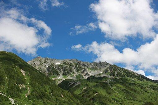 Mountain, Mountain Climbing, Japan, Natural, Sky