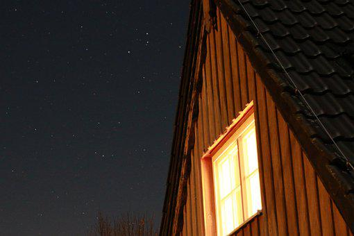 Stars, Night, Night Skies, Twinkle, Moody, Evening