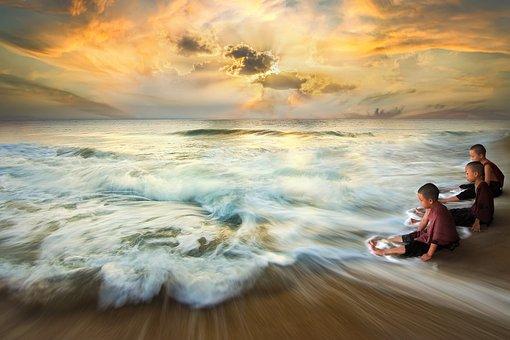 Theravada Buddhism, Samanera, Monk, Novice, Buddhist
