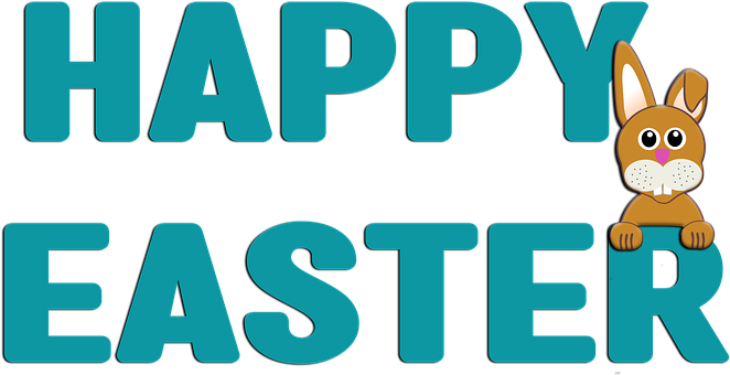 Happy Easter, Bunny, Spring, Rabbit, Hare, Cute