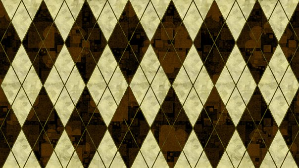 Rhomboid, Rhombus, Checkered, Mosaic, Argyle, Dramatic