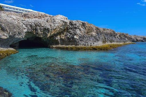 Sea Cave, Sea, Cliffs, Cave, Rock Formation, Coast