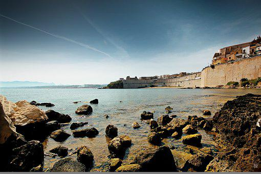 Sea, Rocks, Coast, Shore, Island, Sicily, Italy, Water