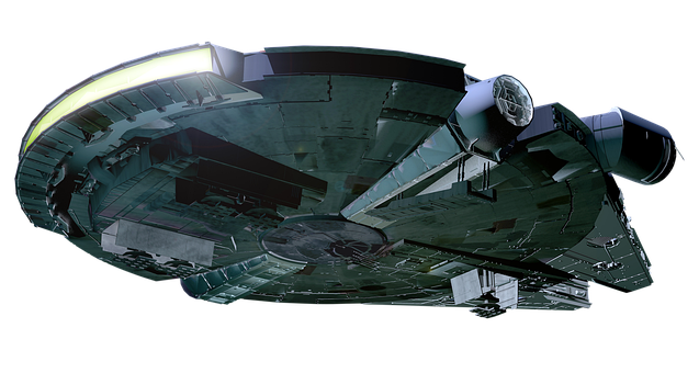 Ufo, Spaceship, Rocketship, Millenium, Falcon