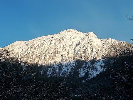 Mountains, Alpine, Reichenhall, Bavaria, Summit, Rock