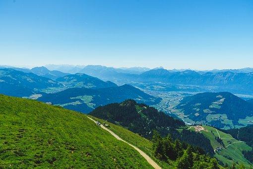 Mountains, Path, Trekking, Hiking, Alps, Austria