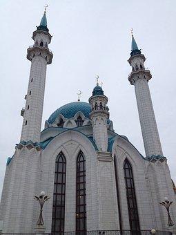 Mosque, Building, Architecture, Facade, Religion