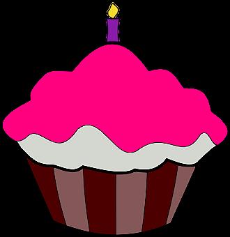 Cupcake, Birthday Cupcake, Birthday, Bakery