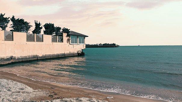 Beach, Sea, Horizon, Ocean, Resort, Beach Resort, Sand