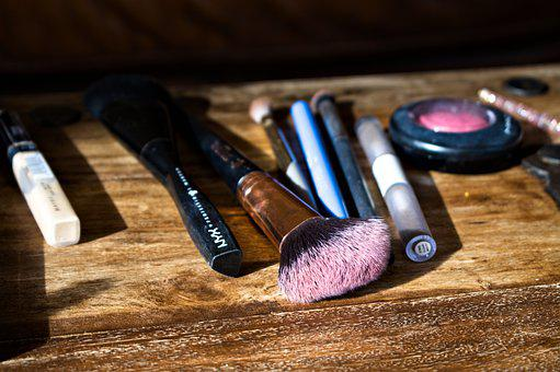 Brushes, Cosmetics, Makeup, Powders, Bristles, Fashion