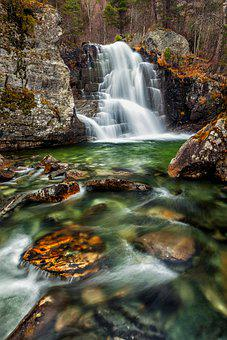 Waterfall, River, Rocks, Stones, Falls, Creek, Stream