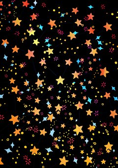 Stars, Pattern, Star, Space, Galaxy, Fantasy, Design