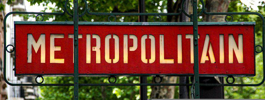 Metro, Metro Descent, Paris, Metropolitan, France