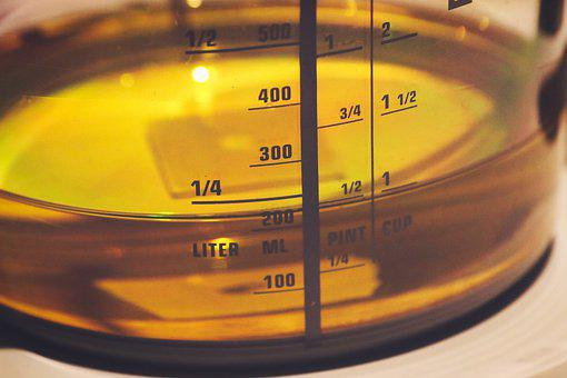 Cup Oil, Cooking Oil, Measuring Cup, Gage, Bake, Cook