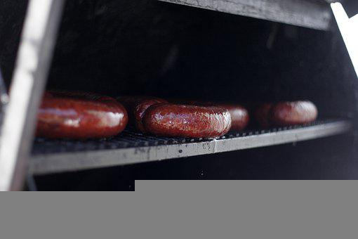 Sausages, Bratwurst, Grill, Cooking, Barbecue, Bbq