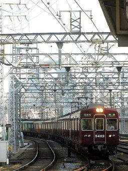 Railway System, Hankyu, Juso Station, Kyoto Line