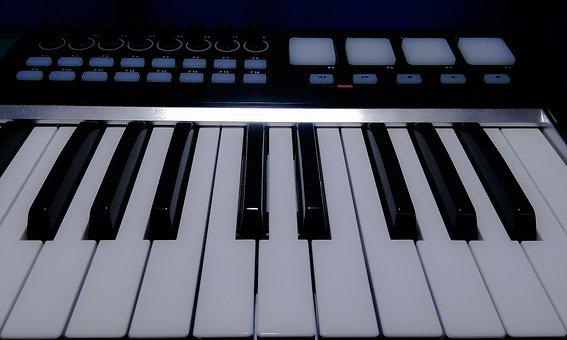 Keyboard, Synthesizer, Piano, Instrument, Music, Keys