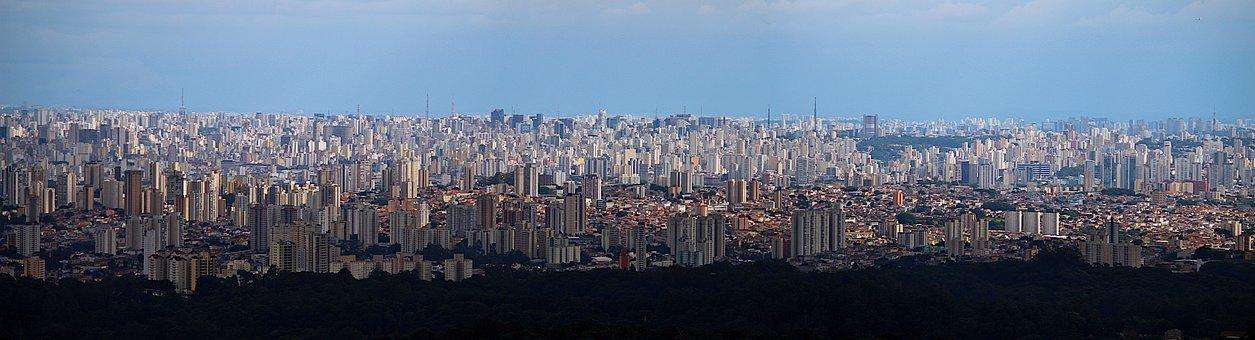 Big City, Landscape, Quarantine, City, Station