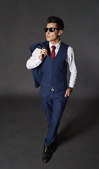 Man, Model, Suit, Tie, Business Man, Executive, Male