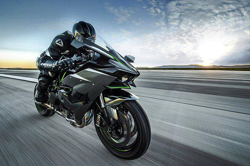 Motorcycle, Road, Driver, Motion, Speed, Transport