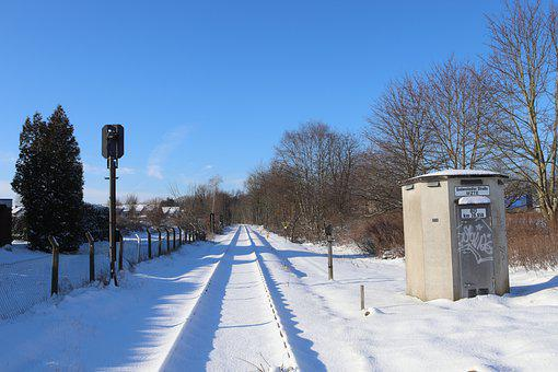Winter, Railway, Snow, Snow Landscape, Snowy, Rails