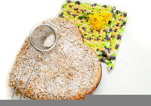 Cake, Streusel, Icing Sugar, Sweet, Dessert, Bake