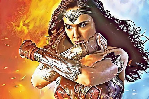 Wonder Woman, Fun, Strong, Style, Person, Super