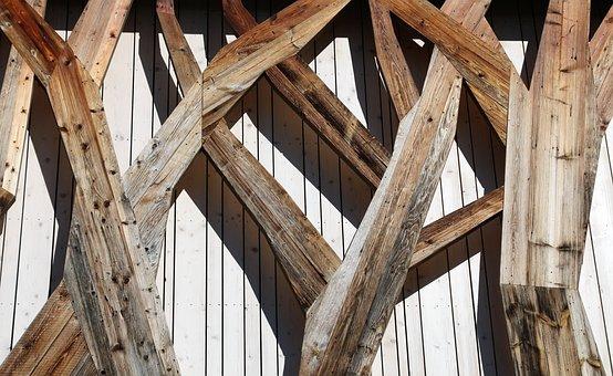 Facade, Timber Façade, Hauswand, Wood, Wooden Wall