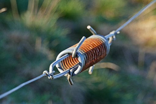 Wire Tensioner, Fence, Metal, Electric Fence