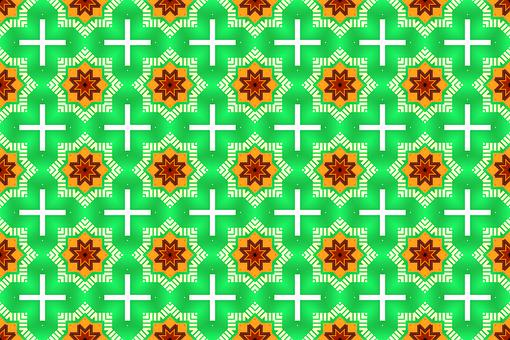 Background, Abstract, Flower, Pattern, Wallpaper, Green
