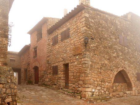 Houses, Stone Walls, Architecture, Old, Stone Houses