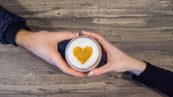 Love, Beer, Drink, Hands, Beer Foam, Cinnamon, Heart