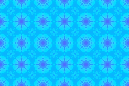 Background, Flower, Pattern, Abstract, Wallpaper, Blue