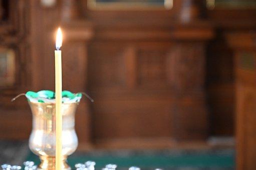 Candle, Light, God, Church, Burn, Decoration, Wax, Glow