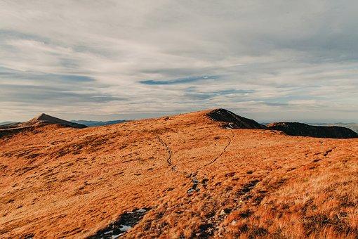 Mountains, Landscape, Nature, Sky, Carpathians
