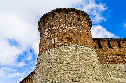 Kremlin, Tower, Citadel, Castle, Fort, Fortress