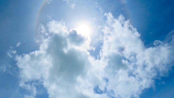 Sunny, Sky, Clouds, Day, Daylight, Sunlight, Day Time