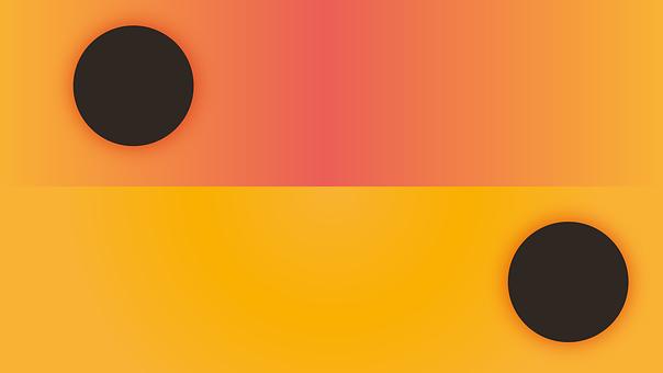 Illustrator, Color, Gradient, Design, Banner, Yellow